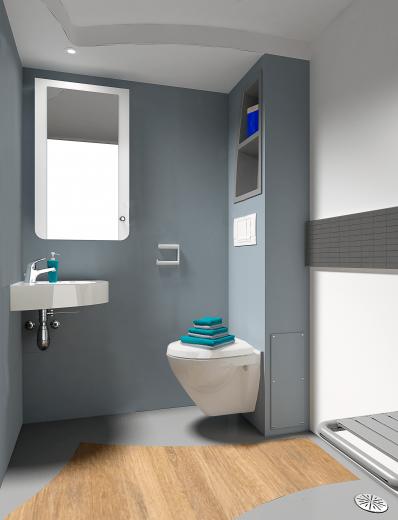 Alega - Bathroom pod by Altor
