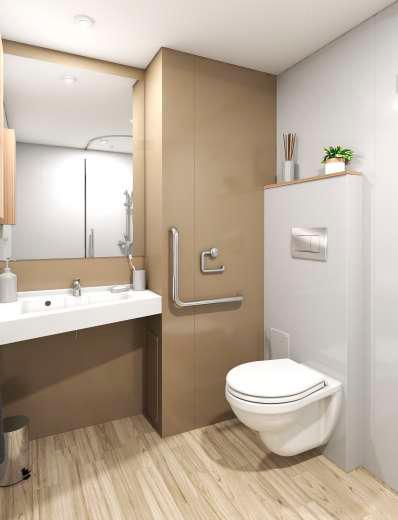 Orphy - Bathroom pod by Altor