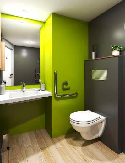 Kaury - Bathroom pod by Altor