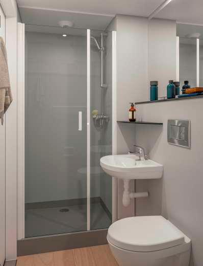 Novea - Bathroom pod by Altor